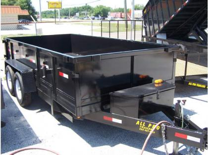 Dump Trailers Export This 2012 All Pro Dt7147t24 Dump Trailers