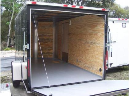 Bison Horse Trailers >> ENCLOSED TRAILERS > > Export this 2012 CARGO CRAFT ELITE V ENCLOSED TRAILERS